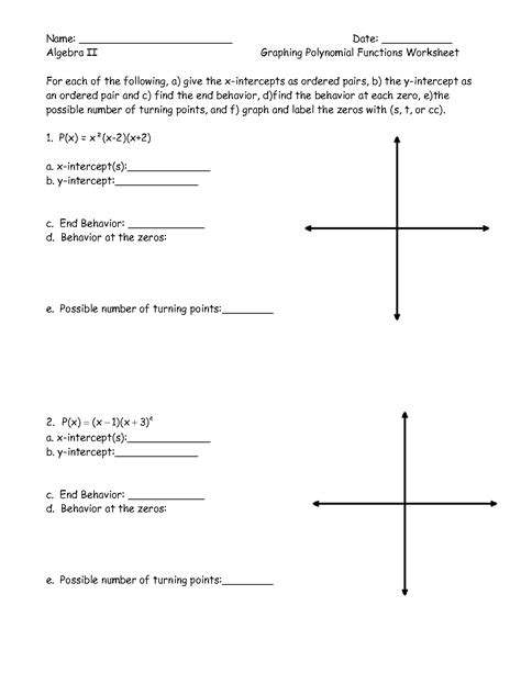 Inverse Linear Functions Worksheet by Polynomial Functions Worksheets Invigorite