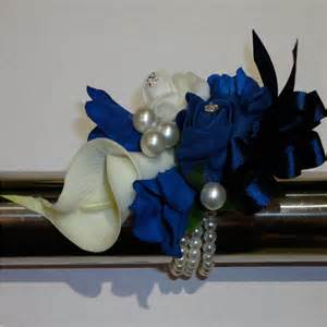 navy blue corsage the floral touch uk prom corsage wrist corsages wrist corsage for proms