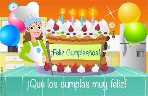 imagenes de cumpleaños tortas torta de cumplea 241 os cumplea 241 os tarjetas