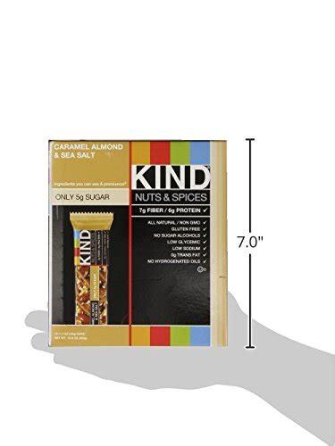 is caramel color gluten free bars caramel almond and sea salt gluten free 1 4