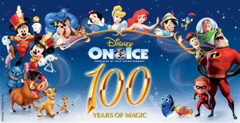 Family Disney On Ice100 Years Of Magic by Disney On 100 Years Of Magic Tour Dates 2016 2017