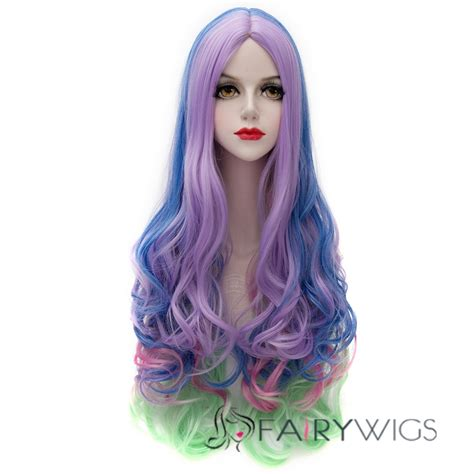 colored wigs cool wave colored wig fairywigs