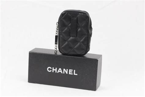 Fashion Bag Cig 08222 Black chanel cambon black quilted leather cigarette holder zip pouch at 1stdibs
