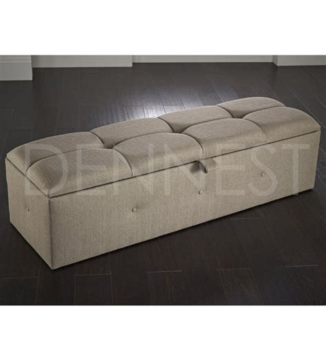 Large Upholstered Ottoman by Upholstered Ottomans Handmade In The Uk