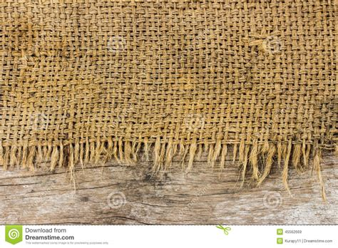 Kitchen Cabinet Materials Rough Sack Material And Wooden Texture Stock Photo Image