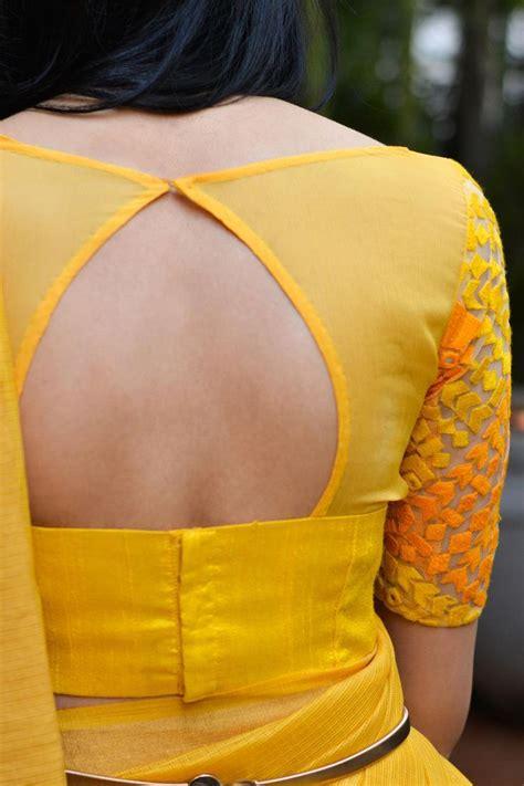 back neck pattern designs sheer blouse back neck designs best blouse 2017