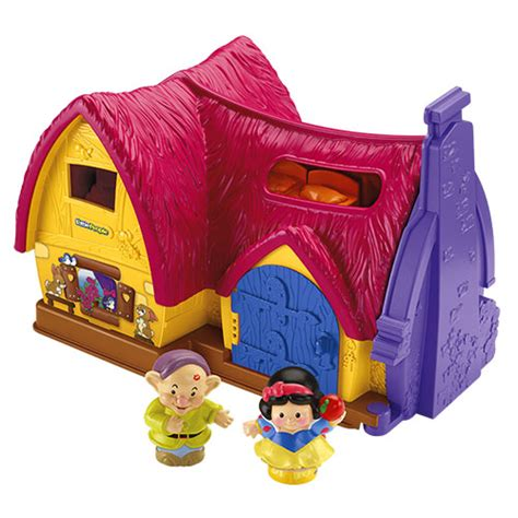Snow White Cottage Playset by New Fisher Price Disney Princess Snow