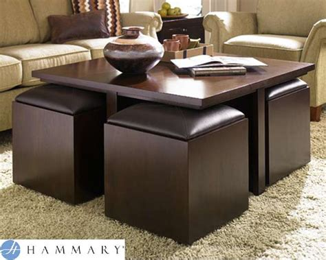 square cocktail table with 4 ottomans square cocktail table with 4 castered ottomans with