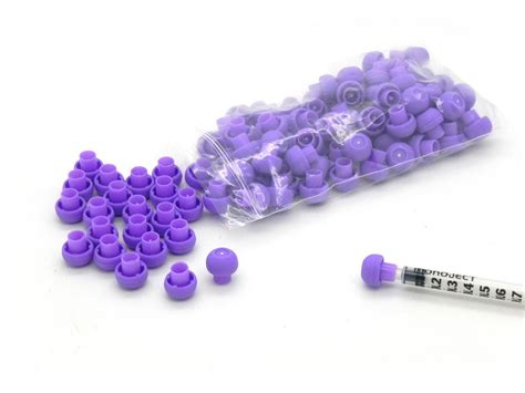 Blue Tip 1ml Isi 500 Pcs syringes with caps