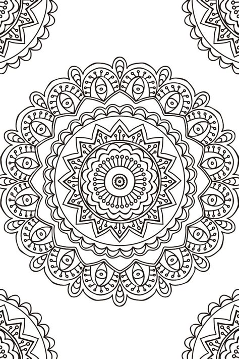 imagenes tumblr para colorear mandala descargable para colorear 2 zentangle
