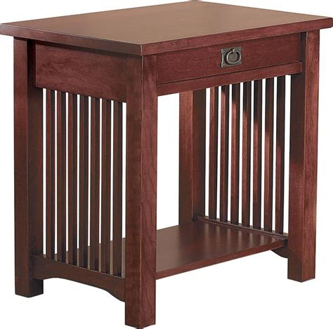one drawer night stand plans nightstands one drawer with footrest under and using wood