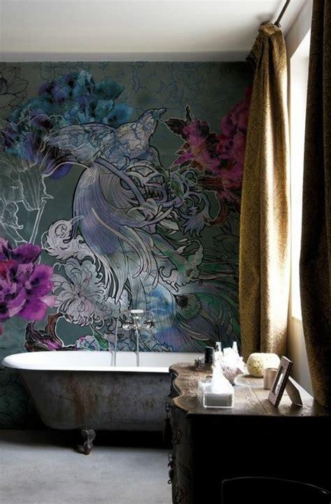 Wandgestaltung Tapete by Tapeten Ideen F 252 R Eine Ausgefallene Wandgestaltung