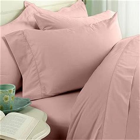 Calvin Klein Blush Duvet Covers by Pink Blush Plain Solid Size Bed Sheet Set 300