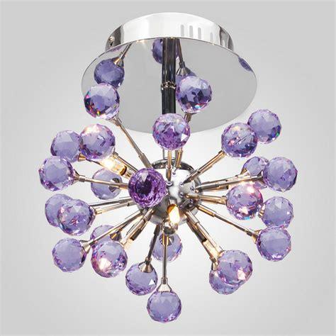 Purple Ceiling Lights Free Shipping Indoor Purple Color Light Ceiling Light With 6 Lights G4 3w Led Bulbs