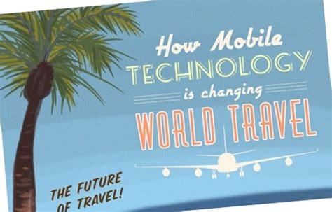 Il Mondo Mobile by Come Il Mobile Cambia Il Mondo Dei Viaggi Infografica