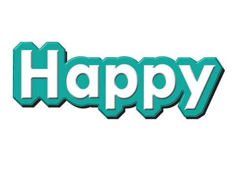 happy birthday in text design happy text design psd material other psd free download