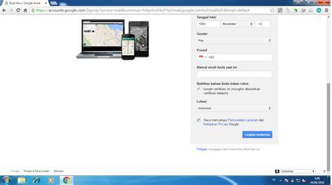 cara membuat akun gmail luar negeri cara membuat atau mendaftar akun google
