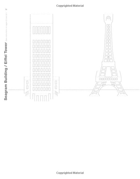 eiffel tower pop up card template pdf eiffel tower kirigami kirigami towers