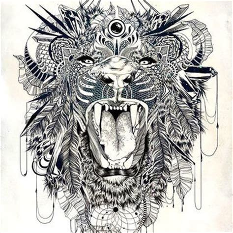 lion tattoo meanings tribal lioness symbol