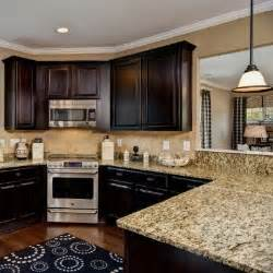 Cabinets Light Granite by Cabinets And Light Granite Counter Tops Home