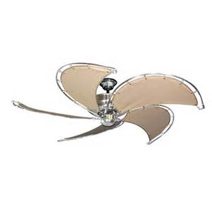Ceiling Fans Nautical Gulf Coast Nautical Raindance Ceiling Fan Brushed Nickel