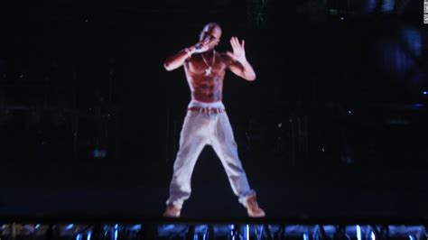 tupac at coachella rapper comes alive via hologram to tupac other holograms we wish would tour cnn
