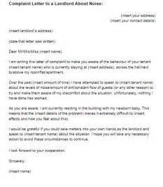 formal complaint letter to landlord template landlord complaint letter free printable documents