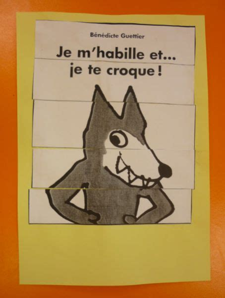 libro je mhabille et je 66 best je m habille et je te croque images on kindergarten preschool and wolves