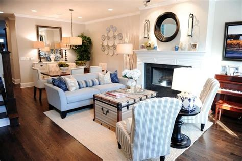tips  decorating  combined living dining room
