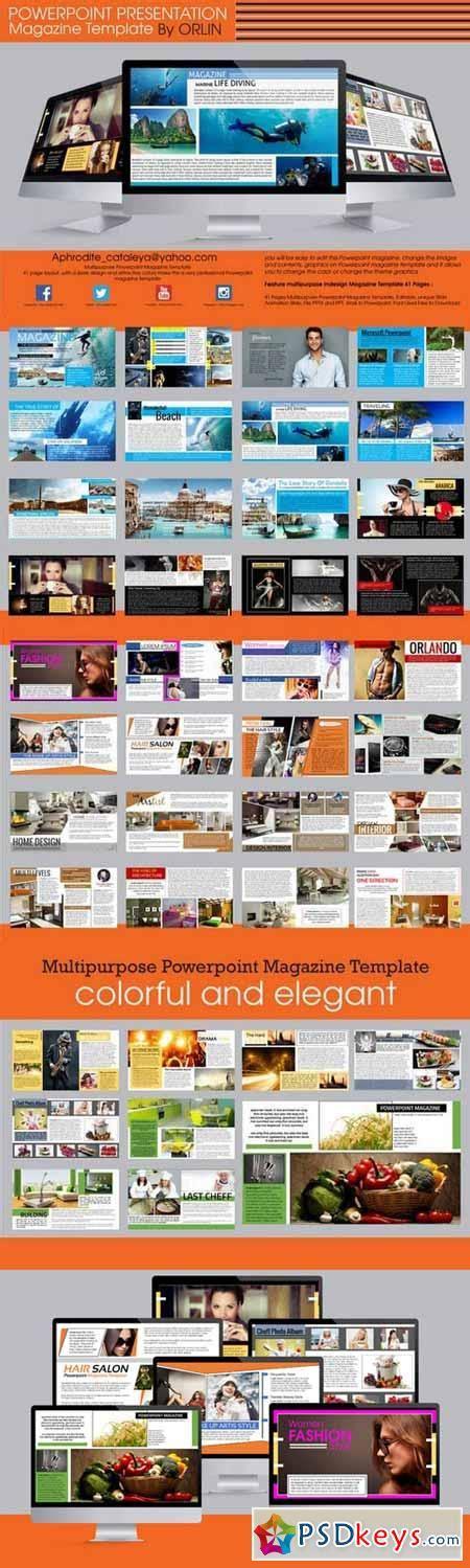 powerpoint magazine template magazine template powerpoint jipsportsbj info