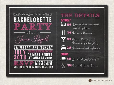 Bachelorette Invites Templates bachelorette invitation bachelorette invitation