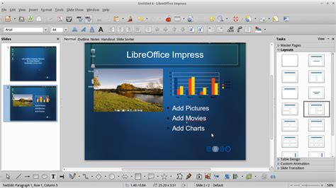 themes presentation libreoffice xubuntu 12 10 day 4 libreoffice 推酷