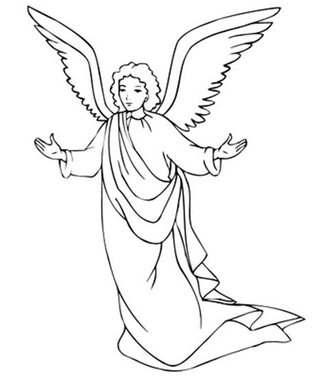 free coloring pages angel and mary christmas angels colouring pictures and clip art images photos
