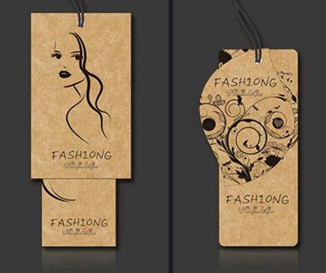 printable kraft paper hang tags label tag supplier clothing printing hang tags custom