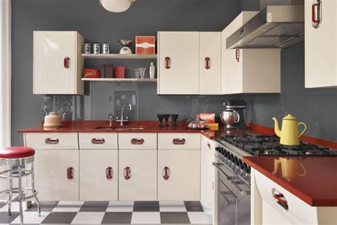 kitchen wallpaper ideas uk cuisine vintage style 50 s americain home design and decor reviews
