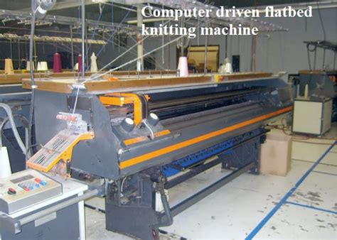 flat machine knitting different types of knitting machines clothing study