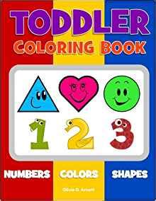 Numbers Colours Shapes Priddy Baby Best Seller toddler coloring book numbers colors shapes baby activity book for age 1 3 boys or