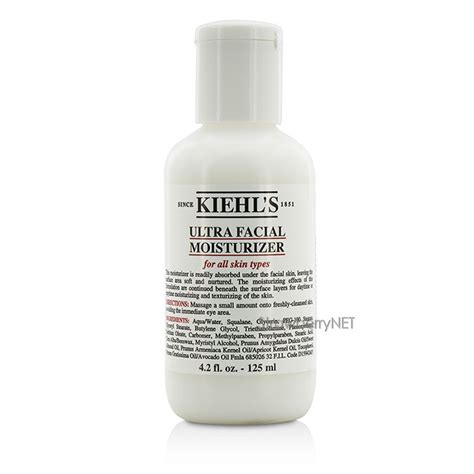 Ultra 125ml 4 2oz kiehl s ultra moisturizer all skin types 125ml 4