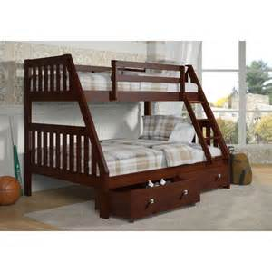 Bunk Bed With Drawers Bunk Bed With Dual Bed Drawers Wayfair