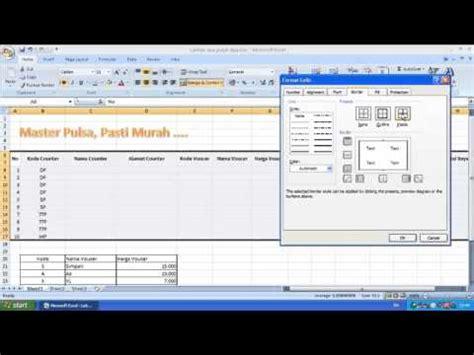 cara membuat aplikasi database dengan excel 2007 cara membuat aplikasi sederhana dengan ms excel doovi