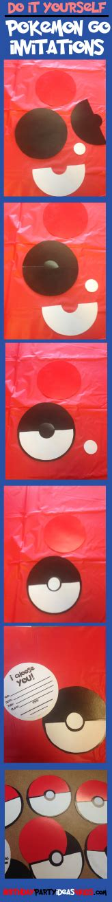How To Make Pokeballs Out Of Paper - free printable for go pokeball invitations