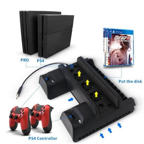 Dobe Ps4 Slim Cooling Fankipas Pendingin Ps4 Slim T3009 3 buy dobe p4 series multifunctional cooling stand for ps4 pro ps4 slim ps4 توصيل taw9eel