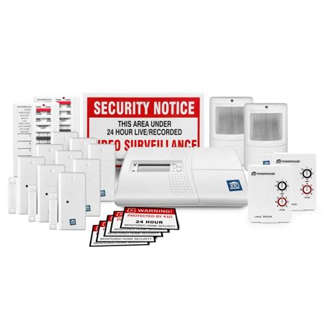 no monthly fee x10 large 22 security kit packaged