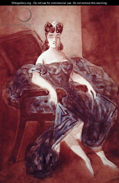 woman in an armchair woman seated in an armchair constantin guys