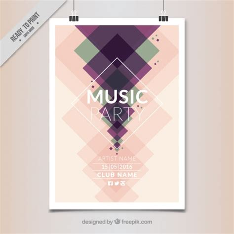 moderne poster abstract poster in modern style vector premium