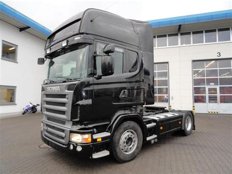 scania r500 v8 topline 5 tractor unit from germany