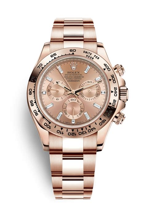 Cosmo Set Ori Majesty rolex cosmograph daytona 18 ct everose gold 116505