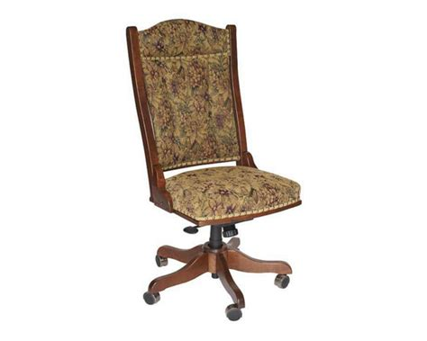 Amish Made Side Desk Chair Homesquare Furniture
