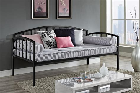 dhp furniture ava metal daybed