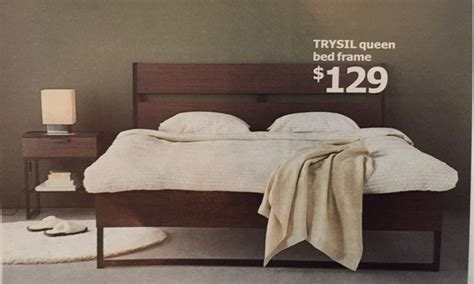 ikea trysil bed frame    white    future pinterest guest rooms